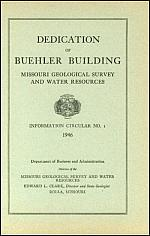 Dedication of the Buehler Building